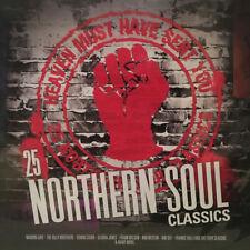 25 NORTHERN SOUL CLASSICS - VARIOUS - 25 TRACKS - 2 X 180 LP VINYL SEALED