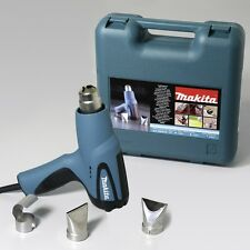 Makita HG5012K 240v 350/500 degrees C heat gun hot air 3 year warranty option