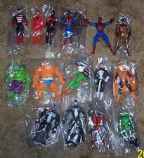 1990 Toy Biz Marvel Super Heroes 15 figure Collection Lot Rare HTF