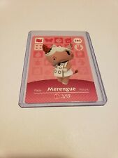 Animal Crossing Amiibo Card Merengue # 285 Series 3 MINT NEVER SCANNED