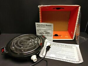 Vintage Hamilton Beach Fifth Burner Hot Plate Model 812, never used