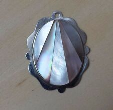 Mother of Pearl Abalone Pendant