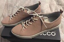 New Women's ECCO Gillian Lace Up Sneakers Shoes Rose Dust US 10 - 10.5 EU 41