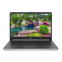 "NEW HP 14"" HD 10th-Gen Intel i3-1005G1 3.4GHz 4GB 128GB SSD Webcam Win 10 Laptop"
