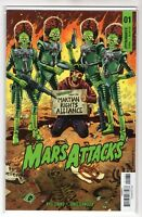 Mars Attack Issue #1 Dynamite Comics Cover C (1st Print 2018)
