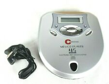 TESTED Portable MP3 CD Player 45 second Electronic Anti Shock Bass Boost System
