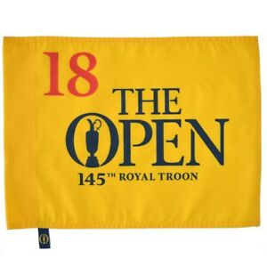 2016 OFFICIAL (Royal Troon) BRITISH OPEN Golf FLAG