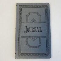 Vintage Blue Ledger Journal Book Notebook Prop Office Supplies Boorum & Pease