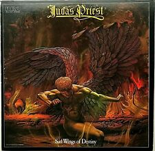 "JUDAS PRIEST ""Sad Wings of Destiny"" Vinyl LP - 1983 RCA  AYL1-4747 - EX / VG+"