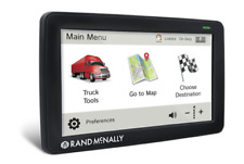 Rand Mcnally Tnd-730 Lifetime Maps Truck Gps 1 Year Free Touchscreen Replacement