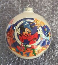 Disney Fantasia 50th Anniversary Sorcerer's Apprentice 1990 Ornament Christmas