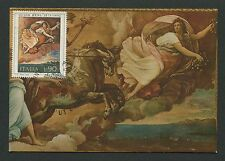 Italia MK 1975 Art Fresco Reni maximum Carte CARTE MAXIMUM CARD MC cm c8805