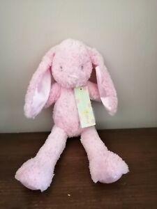 Tesco Cuddle Me Pink Bunny Rabbit Soft Toy Comforter2011