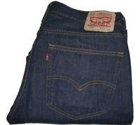 Mens LEVI'S 527 Dark Blue (0479) Slim Bootcut Jeans W36 L30