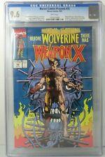 MARVEL COMICS PRESENTS #72 WOLVERINE WEAPON X ORIGIN CGC 9.6 1991 NEW 1008 U.S.