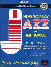 AEBERSOLD 001 How To Play Jazz & Improvise Bk/CD*