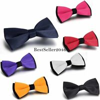 Men's Classic Adjustable Wedding Party Tuxedo Bow Tie Bowtie Necktie Neck Tie