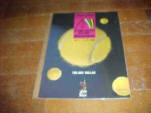1990 Austrian Open Head Cup Kitzbuhel 750,000 Dollar Tennis Program
