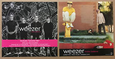 Weezer Rare 2005 Double Sided Promo Poster Flat for Make Believe Cd Mint 12x12