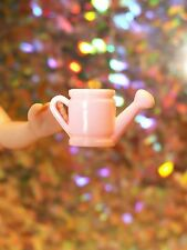 BARBIE, TUTTI, SKOOTER, RICKY & / OR SKIPPER DOLL-SIZED WATERING CAN IN PINK!