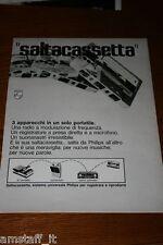 AM18=1972=PHILIPS SALTACASSETTA STEREO=PUBBLICITA'=ADVERTISING=WERBUNG=