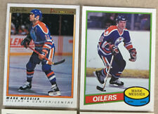 2 Mark Messier Cards 1990-91 OPC Premier #71 1992-93 OPC 25th Anniversary Series