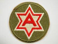WWII U.S.Army 6th Army Shoulder Patch
