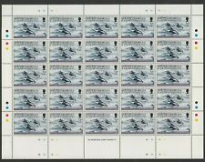 South Georgia 1994 1p Whales in complete sheet of 50 SG 231 Mnh.