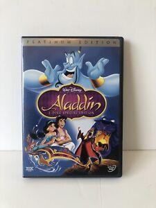 Aladdin (DVD, 2004, 2-Disc Set, Special Platinum Edition) w/ Inserts