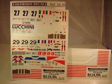 DECALS 1/24 PORSCHE 911 GT1 LE MANS 1997 - COLORADO 2430