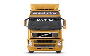 Scotland scotish Truck  sticker/decal for cab windscreen glass