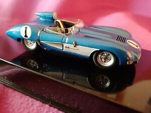 GORGEOUS 1957 CORVETTE SS AUTOART #51051 1:43 NIOB HAVE IN YOUR COLLECTION, BLUE