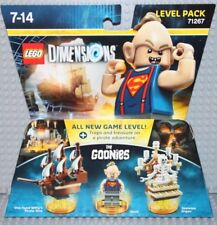 Lego Dimensions 71267 The Goonies, Level Pack, Sloth & Pirate Ship, New in Box!