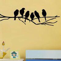 Birds On The Tree Branch Wallpaper Living Room Decoration Removable Art Sticker