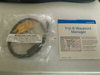 Garmin MapSource Trip and Waypoint Manager CD V4.0 with USB Cable BRAND NEW