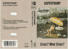 Supertramp - Crisis? What Crisis? (Cassette, Album)