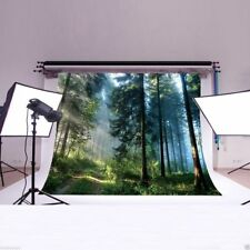 Forest Jungle backdrop Photography studio Props Polyester background 7X5FT DB152