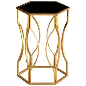 Cyan Design Anson Side Table, Gold Leaf - 05516