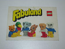 VINTAGE LEGO 1982 ENVELOPE FOLDER 'FABULAND' DUTCH