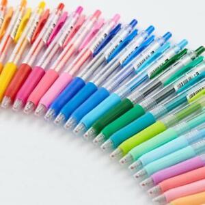 Zebra Sarasa Clip 0.5 Gel Ink Rollerball Pen Fast Drying Rubber Grip