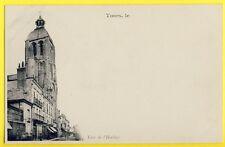 cpa 1900 TOURS (Indre et Loire) TOUR de l'HORLOGE Herboristerie Raymond GOUNIN