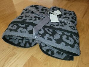 """Barefoot Dreams Blanket In The Wild 54"""" x 72"""" In Graphite/Carbon Color"""