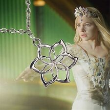 Fashion Galadriel Queen lord of the rings Elves hobbit flower pendant necklace