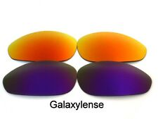 Galaxy Replacement Lenses For Oakley Straight Jacket Purple&Red Polarized (1999)