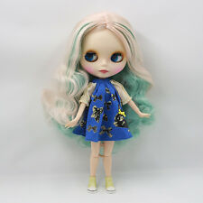 """12"""" Neo Blythe Doll Matte Face from Factory Joint Body Nude Doll JSW73011"""