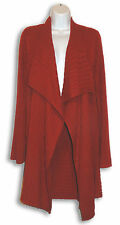 Ladies Rusty Red Sweater Jacket -  Size M - FEVER