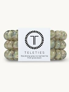 Brand New Teleties 3 Pack Small Hair Ties Precious Cargo Holder Bracelets