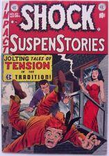 SHOCK SUSPENSTORIES #10 (1953) FN 6.0  EC GOLDEN AGE HORROR
