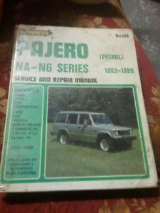 GREGORY'S Service Repair Manual PAJERO NA-NG Series 1983-1990 PETROL