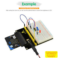 KEYESTUDIO Prototype Expansion Shield With Breadboard for BBC Micro:Bit Microbit